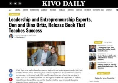 Don and Dina Featured in Kivo Daily