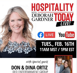 DEO Speaks: Hospitality Today Live with